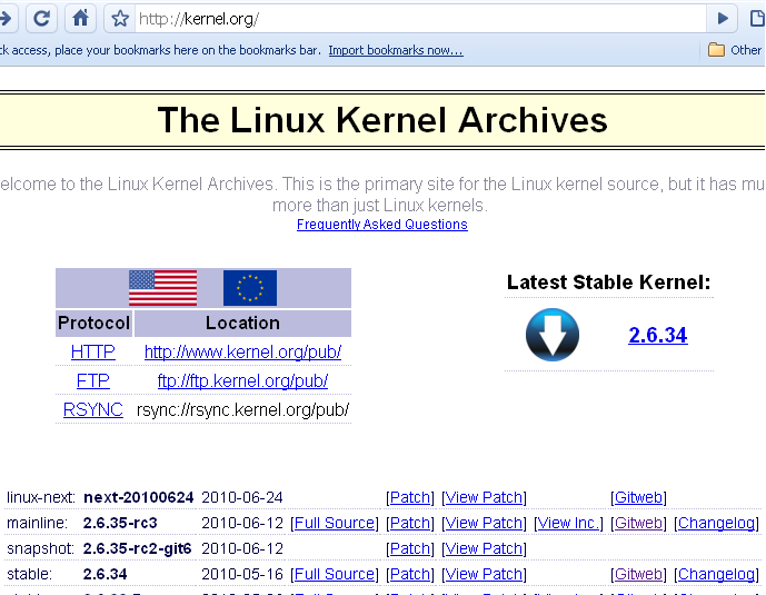 Kernel Archieve