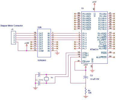 Stepper Interfacing with 8051 Microcontroller