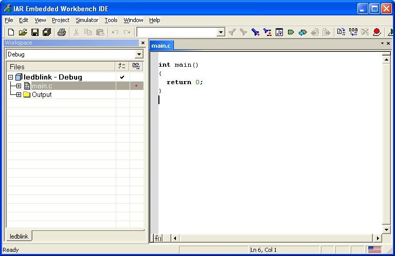 Embedded ARM Programming   IAR Workbench for ARM - EmbeddedCraft